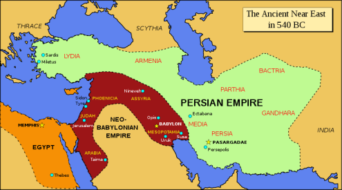 Ancient near east, 540 BCE