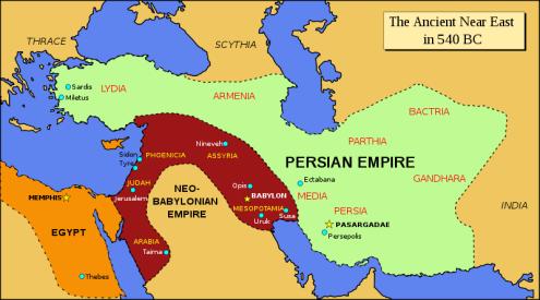 Ancient near east, 540 BCE