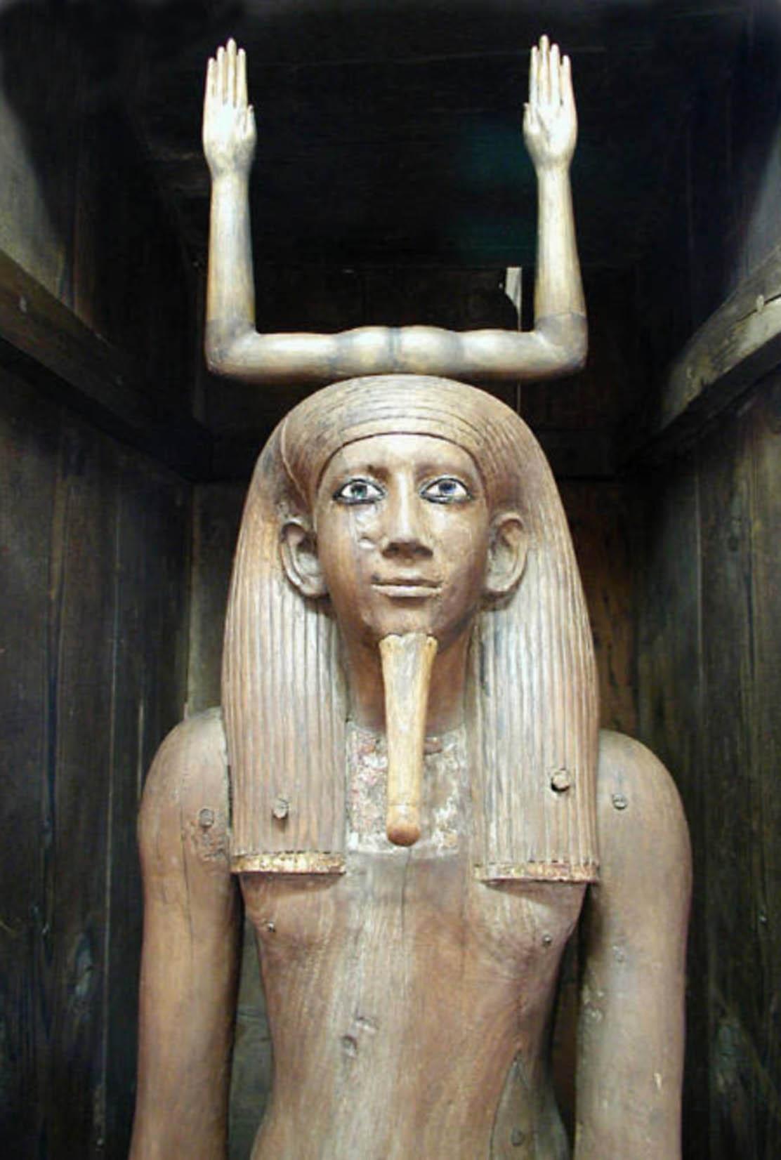 Ancient Egyptian Tarot Deck: 5d: Qoholet As Sage, Wisdom's Influence—egyptian Wisdom