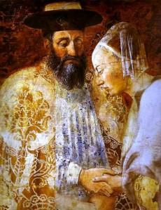 Solomon and Sheba by Piero della Francesca